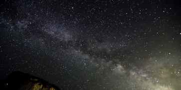 milky way galaxy photo taken from Earth